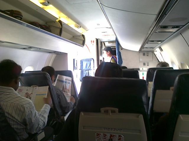 Air Travel Squashed Duffle Bag
