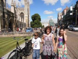 Visiting Cambridge last year