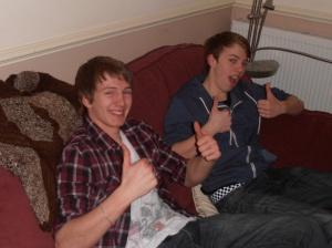 Jonathan and Chris