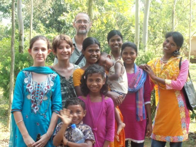 My family in Bangladesh