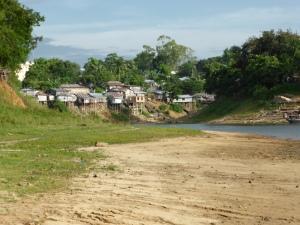 Bangladesh has sand littered everywhere