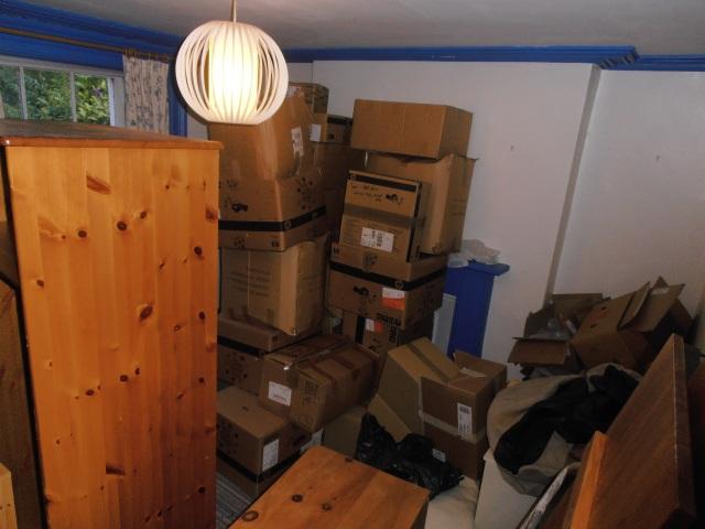 Ria's room (aka warehouse)