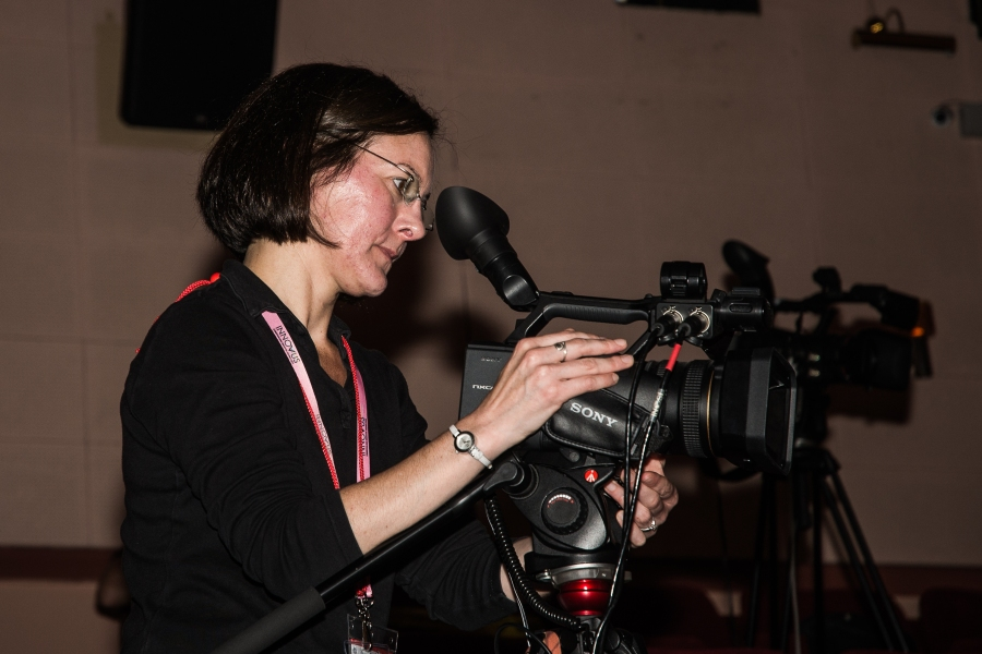 Our amazing and lovely video director Val Morgan (photo: Gary McKeating)